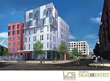 NW 14th and Raleigh Rendering