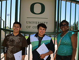 Youth Mentor Trip to U of O